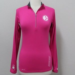 Pittsburgh Steelers Nike Breast Cancer Pink Top XS